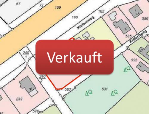 Baugrundstück Flurstück 542 in 16356 Werneuchen bebaut mit kleinem Wohnhaus